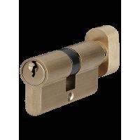 Цилиндр для замка P6E30-30T SB матовая латунь