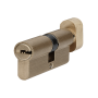 Цилиндр для замка P6P35-30T SB матовая латунь 65 мм