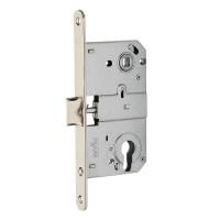 Дверной замок MVM M-85C SN матовый никель