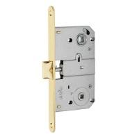 Дверной замок MVM M-90 SB матовая латунь
