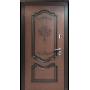 Входные двери Престиж темный орех патина Vinorit (улица) Белорусский Стандарт