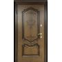 Входные двери Престиж дуб декор/белый ясень Белорусский Стандарт