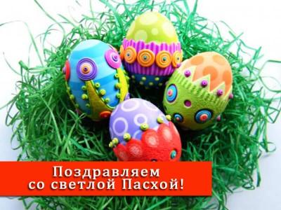 Поздравление со светлым праздником Пасхи Христовой 2018!