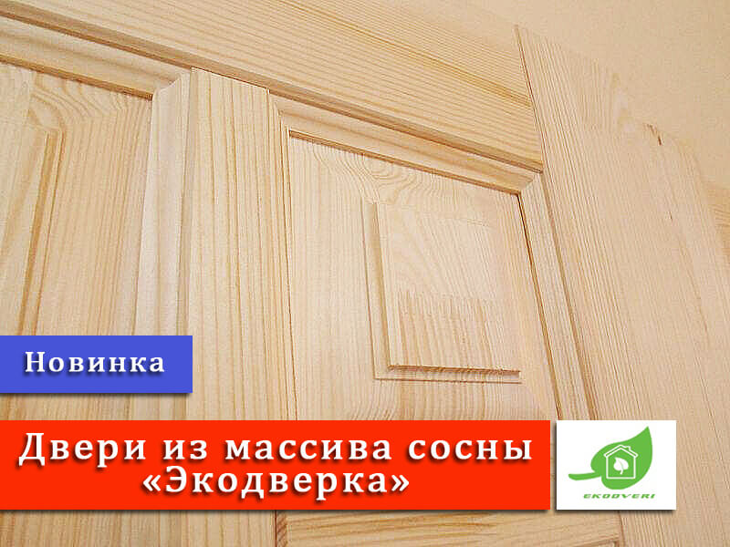 Новинка - двери Экодверка