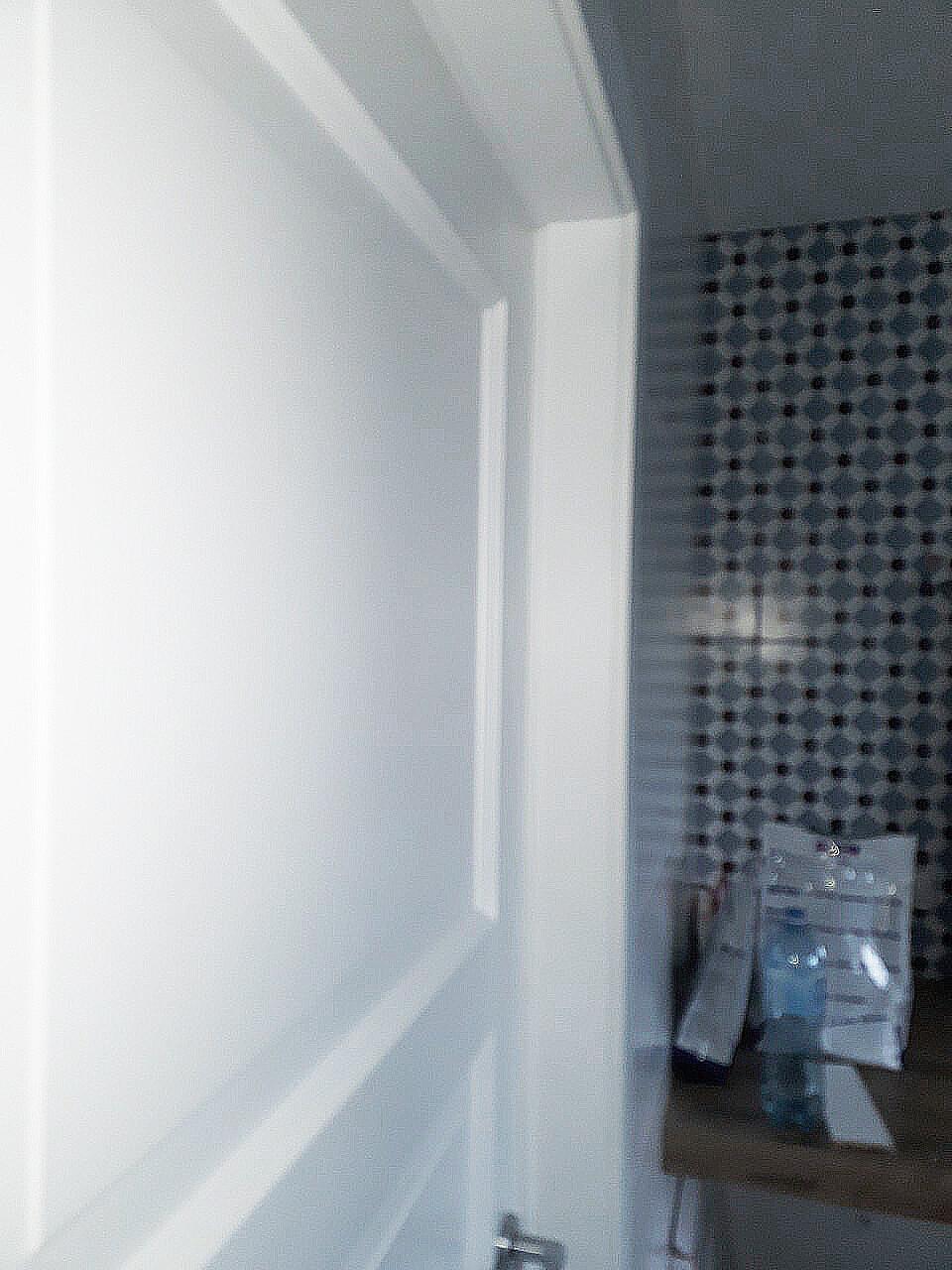 Двери Рим ПГ белые в ванную Ваши Двери