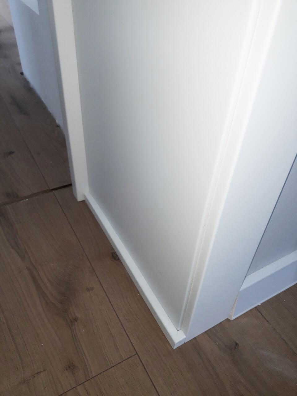 Доборная доска белая Ваши Двери