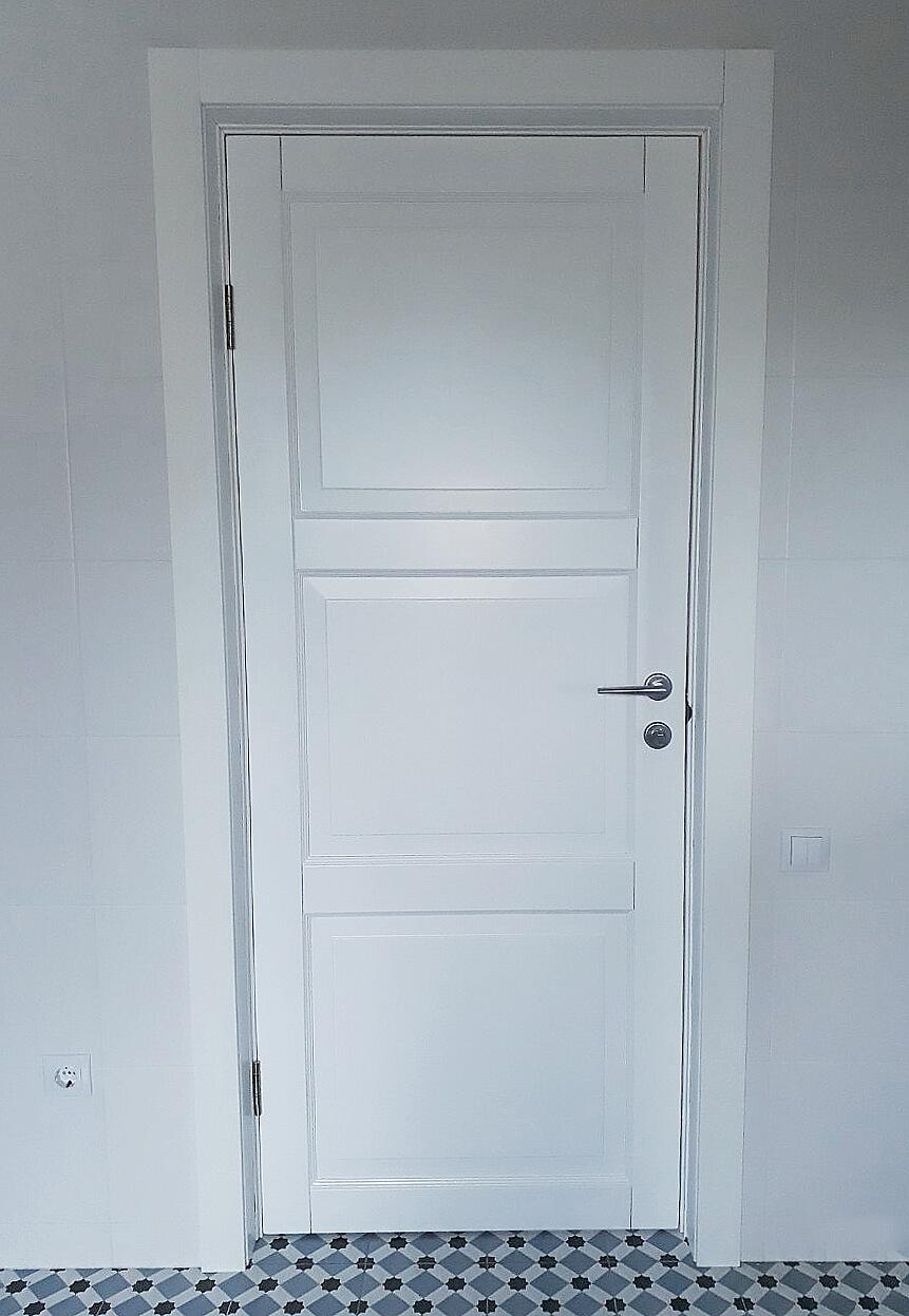 Двери межкомнатные Рим белые ПГ Ваши Двери